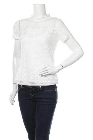 Γυναικεία μπλούζα Morgan, Μέγεθος M, Χρώμα Λευκό, 95% βισκόζη, 5% ελαστάνη, Τιμή 16,42€