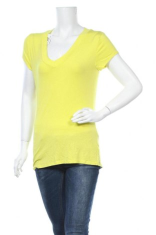 Γυναικεία μπλούζα Mossimo, Μέγεθος L, Χρώμα Κίτρινο, 95% βισκόζη, 5% ελαστάνη, Τιμή 8,44€