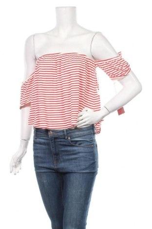Γυναικεία μπλούζα Mossimo, Μέγεθος M, Χρώμα Λευκό, 95% βισκόζη, 5% ελαστάνη, Τιμή 22,73€