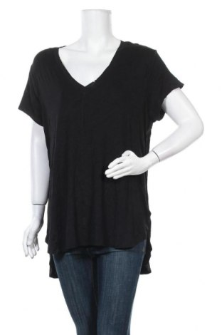 Γυναικεία μπλούζα Mossimo, Μέγεθος XXL, Χρώμα Μαύρο, 95% βισκόζη, 5% ελαστάνη, Τιμή 17,54€