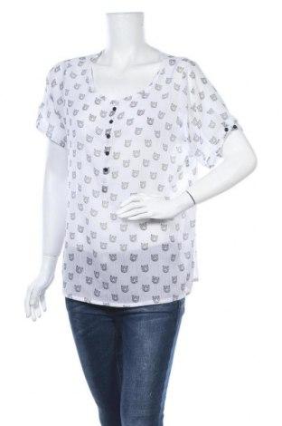 Γυναικεία μπλούζα Multiblu, Μέγεθος L, Χρώμα Λευκό, Τιμή 9,09€