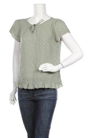 Γυναικεία μπλούζα Multiblu, Μέγεθος L, Χρώμα Πράσινο, Βισκόζη, Τιμή 11,04€