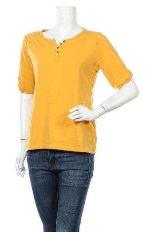 Γυναικεία μπλούζα Multiblu, Μέγεθος L, Χρώμα Πορτοκαλί, 57% βαμβάκι, 38% πολυεστέρας, 5% ελαστάνη, Τιμή 10,39€