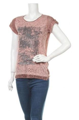Γυναικεία μπλούζα Multiblu, Μέγεθος L, Χρώμα Ρόζ , 67% πολυεστέρας, 33% βισκόζη, Τιμή 11,04€