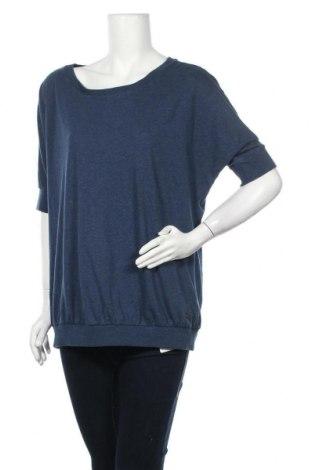 Дамска блуза My Blue by Tchibo, Размер XXL, Цвят Син, 50% памук, 50% полиестер, Цена 12,50лв.
