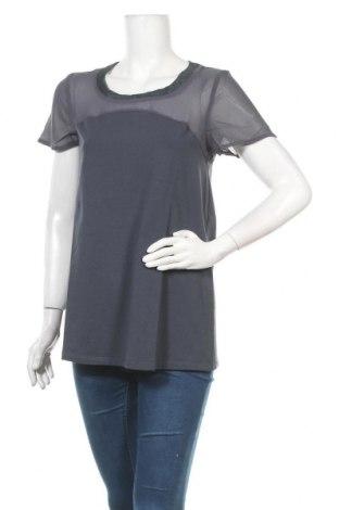 Γυναικεία μπλούζα Myrine, Μέγεθος M, Χρώμα Μπλέ, 95% βαμβάκι, 5% ελαστάνη, Τιμή 13,07€