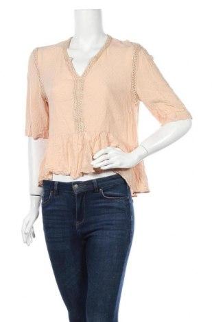 Дамска блуза Nadia Nardi, Размер M, Цвят Бежов, Вискоза, Цена 9,45лв.