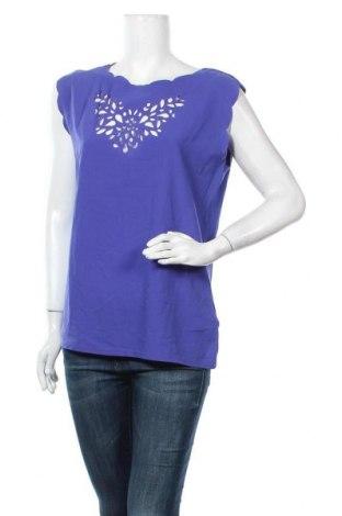 Γυναικεία μπλούζα Naf Naf, Μέγεθος L, Χρώμα Βιολετί, 51% βισκόζη, 49% βαμβάκι, Τιμή 11,69€