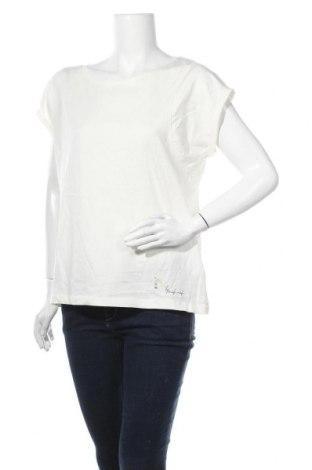 Γυναικεία μπλούζα Naf Naf, Μέγεθος XL, Χρώμα Λευκό, Βαμβάκι, Τιμή 11,04€