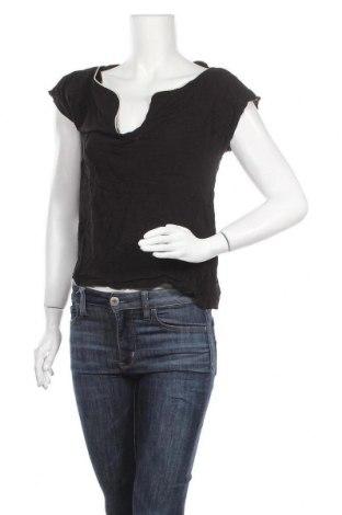 Γυναικεία μπλούζα Naf Naf, Μέγεθος M, Χρώμα Μαύρο, Τιμή 10,39€