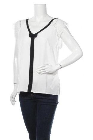 Γυναικεία μπλούζα Naf Naf, Μέγεθος XL, Χρώμα Λευκό, 58% πολυεστέρας, 40% βισκόζη, 2% ελαστάνη, Τιμή 16,24€