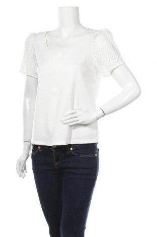 Γυναικεία μπλούζα Naf Naf, Μέγεθος M, Χρώμα Λευκό, 85% πολυεστέρας, 12% πολυαμίδη, 3% ελαστάνη, Τιμή 18,95€