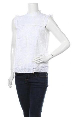 Дамска блуза New Look, Размер M, Цвят Бял, Памук, Цена 27,00лв.