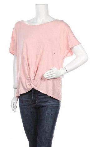 Γυναικεία μπλούζα New York & Company, Μέγεθος XL, Χρώμα Ρόζ , 95% βισκόζη, 5% ελαστάνη, Τιμή 14,94€