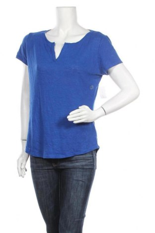 Γυναικεία μπλούζα New York & Company, Μέγεθος M, Χρώμα Μπλέ, 52% λινό, 48% πολυεστέρας, Τιμή 12,86€