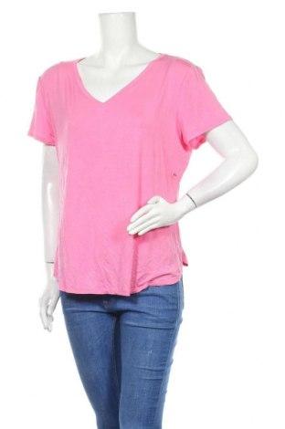 Γυναικεία μπλούζα New York & Company, Μέγεθος XL, Χρώμα Ρόζ , 95% βισκόζη, 5% ελαστάνη, Τιμή 11,04€
