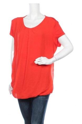Γυναικεία μπλούζα New York & Company, Μέγεθος XL, Χρώμα Πορτοκαλί, 95% βισκόζη, 5% ελαστάνη, Τιμή 10,39€