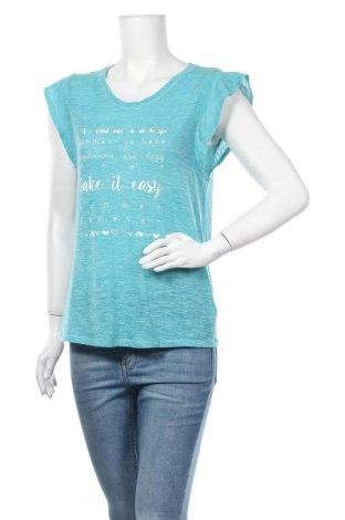 Γυναικεία μπλούζα Next, Μέγεθος M, Χρώμα Μπλέ, 70% πολυεστέρας, 30% βαμβάκι, Τιμή 11,04€