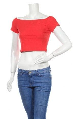 Γυναικεία μπλούζα Nly Trend, Μέγεθος S, Χρώμα Κόκκινο, 60% πολυεστέρας, 32% βισκόζη, 8% ελαστάνη, Τιμή 10,49€