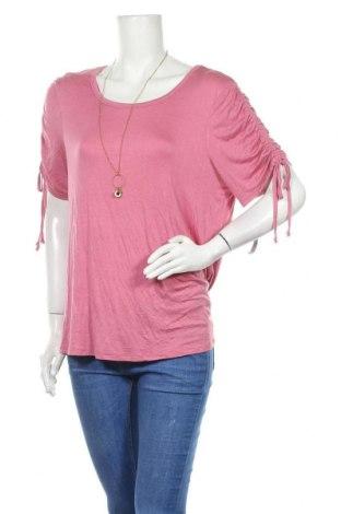 Γυναικεία μπλούζα No Boundaries, Μέγεθος XXL, Χρώμα Ρόζ , 95% βισκόζη, 5% ελαστάνη, Τιμή 16,89€