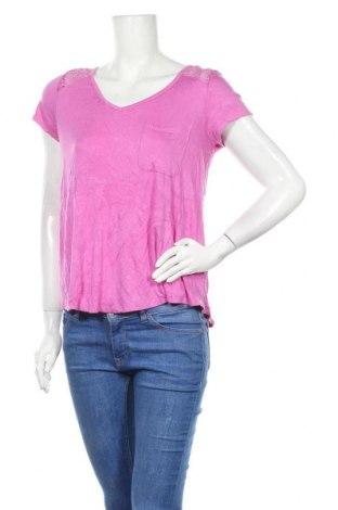 Γυναικεία μπλούζα No Boundaries, Μέγεθος L, Χρώμα Βιολετί, 95% βισκόζη, 5% ελαστάνη, Τιμή 11,69€