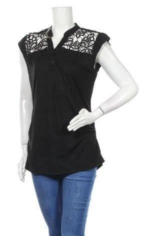 Γυναικεία μπλούζα No Boundaries, Μέγεθος XXL, Χρώμα Μαύρο, 65% πολυεστέρας, 35% βισκόζη, Τιμή 10,49€