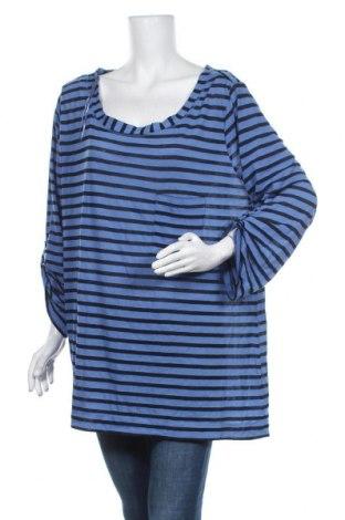 Γυναικεία μπλούζα Now, Μέγεθος 3XL, Χρώμα Μπλέ, Βισκόζη, Τιμή 15,59€