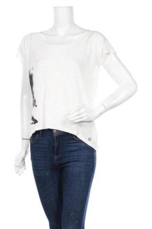 Γυναικεία μπλούζα Numph, Μέγεθος L, Χρώμα Λευκό, 85% πολυεστέρας, 15% λινό, Τιμή 18,77€