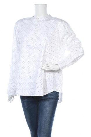 Γυναικεία μπλούζα Numph, Μέγεθος XL, Χρώμα Λευκό, Βαμβάκι, Τιμή 25,13€