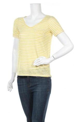 Γυναικεία μπλούζα Object, Μέγεθος XS, Χρώμα Κίτρινο, 55% πολυεστέρας, 45% βισκόζη, Τιμή 14,07€