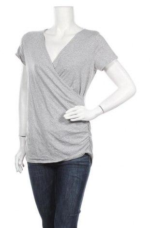 Дамска блуза Old Navy, Размер L, Цвят Сив, 58% памук, 37% модал, 7% еластан, Цена 17,85лв.