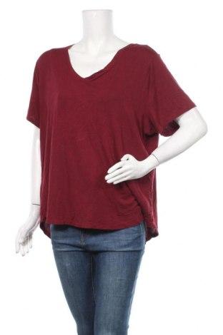 Дамска блуза Old Navy, Размер XXL, Цвят Червен, 95% вискоза, 5% еластан, Цена 18,95лв.