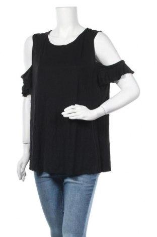 Дамска блуза Old Navy, Размер XXL, Цвят Черен, Вискоза, Цена 15,75лв.