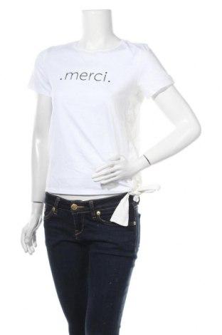 Γυναικεία μπλούζα Opus, Μέγεθος S, Χρώμα Λευκό, Βαμβάκι, Τιμή 11,69€