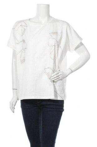 Γυναικεία μπλούζα Opus, Μέγεθος M, Χρώμα Λευκό, Βαμβάκι, Τιμή 22,81€