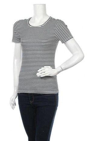 Γυναικεία μπλούζα Pieces, Μέγεθος S, Χρώμα Λευκό, 48% βαμβάκι, 48% πολυεστέρας, 4% ελαστάνη, Τιμή 15,08€