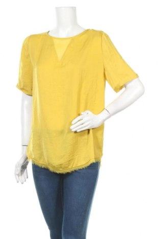Γυναικεία μπλούζα Promod, Μέγεθος XL, Χρώμα Κίτρινο, Τιμή 10,52€