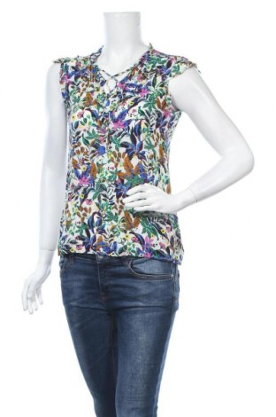 Дамска блуза Promod, Размер XS, Цвят Многоцветен, Вискоза, Цена 14,96лв.