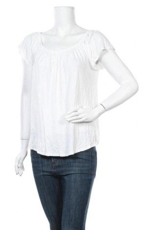 Дамска блуза Promod, Размер M, Цвят Бял, Вискоза, Цена 15,75лв.