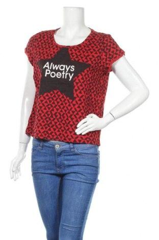 Γυναικεία μπλούζα Q/S by S.Oliver, Μέγεθος L, Χρώμα Κόκκινο, Βαμβάκι, Τιμή 11,69€