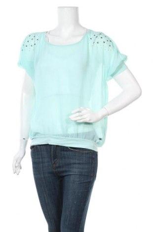 Γυναικεία μπλούζα Q/S by S.Oliver, Μέγεθος M, Χρώμα Πράσινο, Πολυεστέρας, Τιμή 11,04€