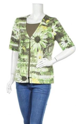 Дамска блуза Rabe, Размер L, Цвят Многоцветен, 92% вискоза, 8% еластан, Цена 7,88лв.