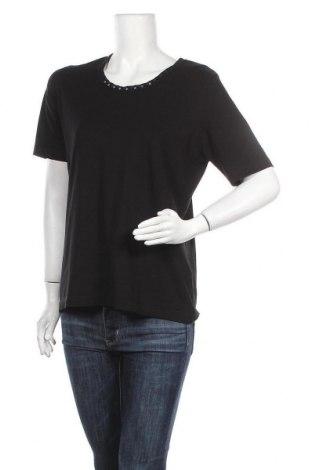Дамска блуза Rabe, Размер XL, Цвят Черен, 92% вискоза, 8% еластан, Цена 14,18лв.