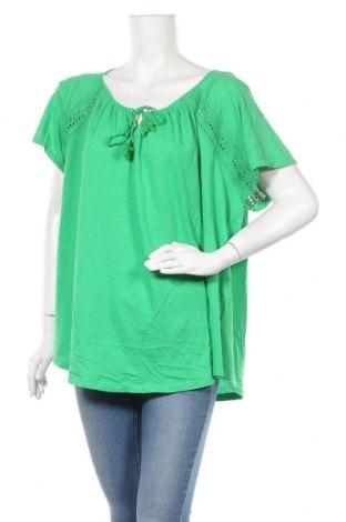 Дамска блуза Ralph Lauren, Размер 3XL, Цвят Зелен, Памук, Цена 111,72лв.