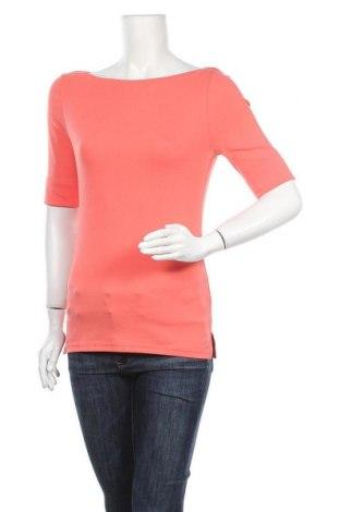 Дамска блуза Ralph Lauren, Размер M, Цвят Розов, 93% памук, 7% еластан, Цена 68,83лв.