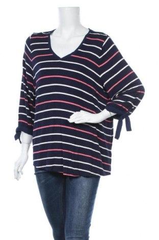 Γυναικεία μπλούζα Reitmans, Μέγεθος XXL, Χρώμα Μπλέ, 95% βισκόζη, 5% ελαστάνη, Τιμή 11,72€