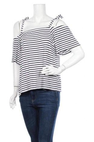 Γυναικεία μπλούζα Reitmans, Μέγεθος XL, Χρώμα Λευκό, 95% βισκόζη, 5% ελαστάνη, Τιμή 10,39€