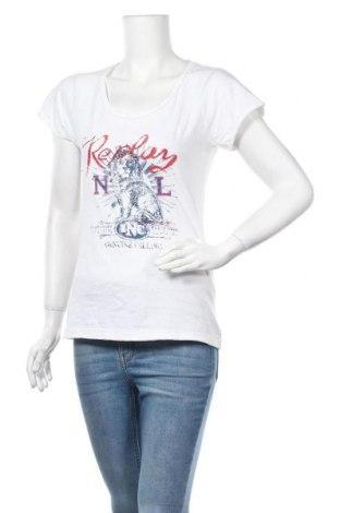 Γυναικεία μπλούζα Replay, Μέγεθος S, Χρώμα Λευκό, Βαμβάκι, Τιμή 18,19€