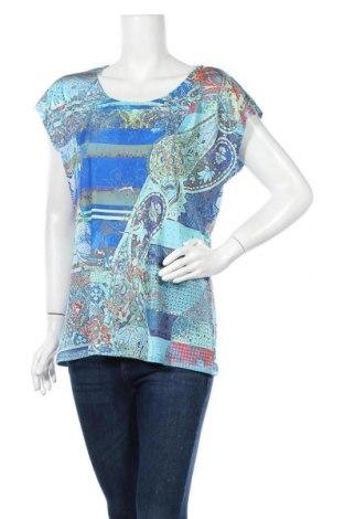 Дамска блуза Rick Cardona, Размер XL, Цвят Многоцветен, 95% полиестер, 5% еластан, Цена 10,08лв.