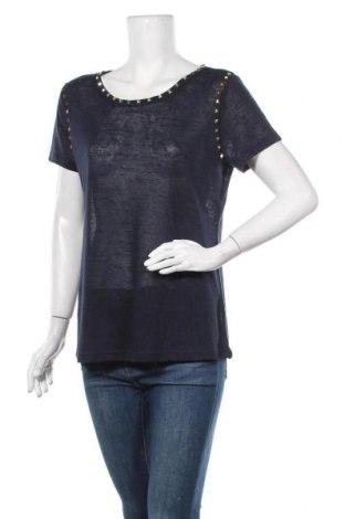 Дамска блуза Rick Cardona, Размер L, Цвят Син, Полиестер, Цена 15,12лв.